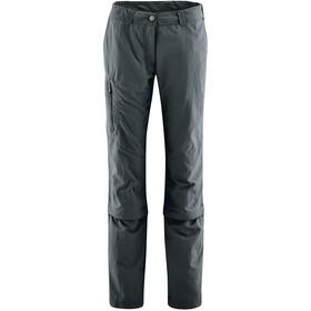 Maier Sports Fulda Spodnie z odpinanymi nogawkami Kobiety, graphite